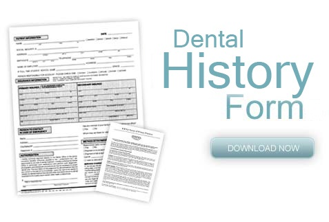 Dental History Form